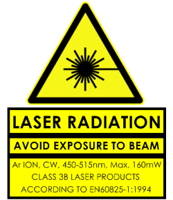 Laser-Radiation-Warning
