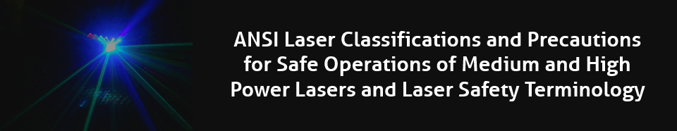 NLC Laser Classifications